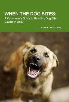 Free Book That Provides Answers To Victims of Dog Attacks